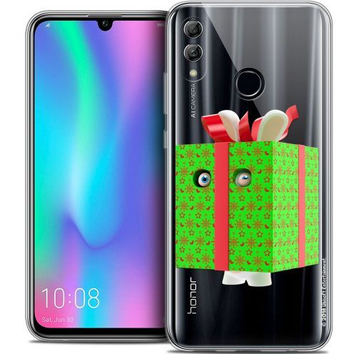 "Coque Gel Huawei Honor 10 LITE (5.8"") Extra Fine Lapins Crétins™ - Lapin Surprise Vert"