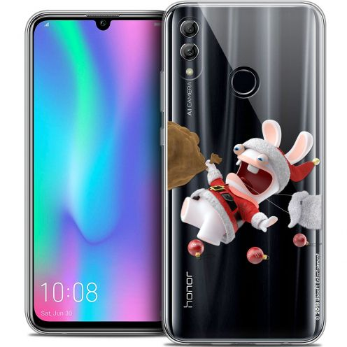 "Coque Gel Huawei Honor 10 LITE (5.8"") Extra Fine Lapins Crétins™ - Père Lapin Crétin"