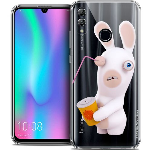 "Coque Gel Huawei Honor 10 LITE (5.8"") Extra Fine Lapins Crétins™ - Soda Crétin"