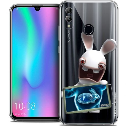 "Coque Gel Huawei Honor 10 LITE (5.8"") Extra Fine Lapins Crétins™ - X Ray Crétin"