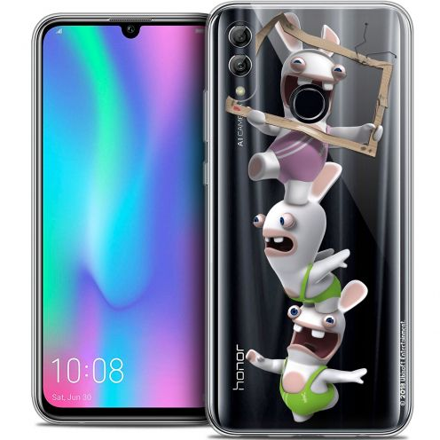 "Coque Gel Huawei Honor 10 LITE (5.8"") Extra Fine Lapins Crétins™ - TV Sport"