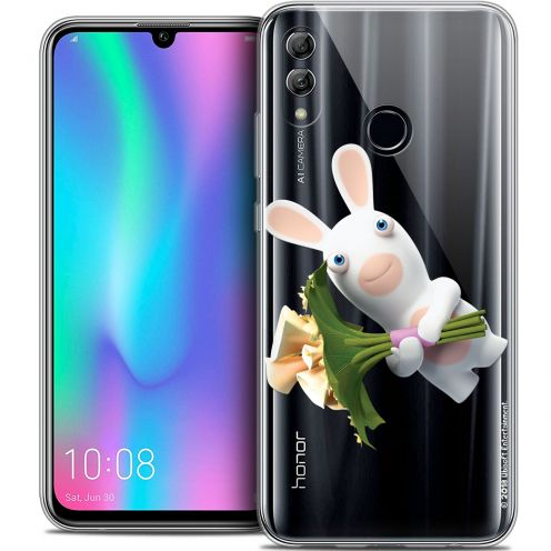 "Coque Gel Huawei Honor 10 LITE (5.8"") Extra Fine Lapins Crétins™ - Bouquet Crétin"
