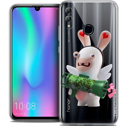 "Coque Gel Huawei Honor 10 LITE (5.8"") Extra Fine Lapins Crétins™ - Cupidon Soldat"