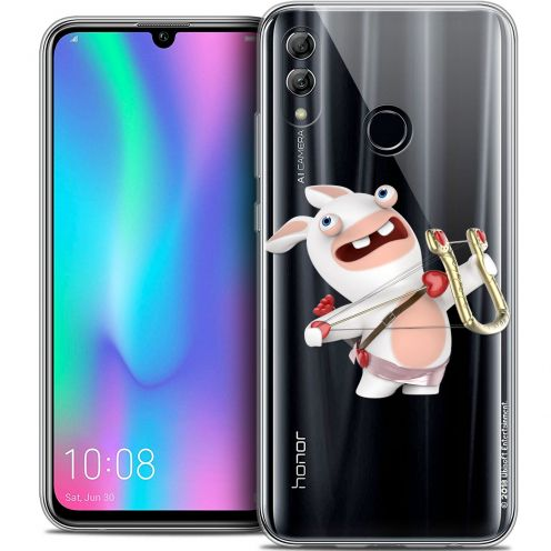 "Coque Gel Huawei Honor 10 LITE (5.8"") Extra Fine Lapins Crétins™ - Cupidon Crétin"