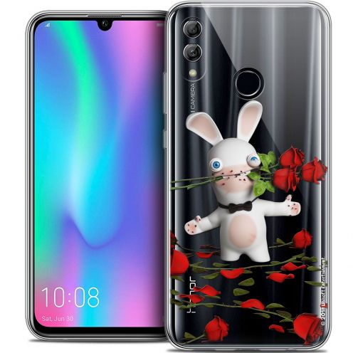 "Coque Gel Huawei Honor 10 LITE (5.8"") Extra Fine Lapins Crétins™ - Gentleman Crétin"