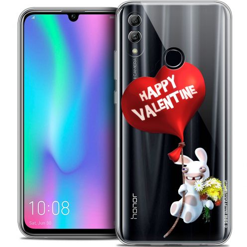 "Coque Gel Huawei Honor 10 LITE (5.8"") Extra Fine Lapins Crétins™ - Valentin Crétin"