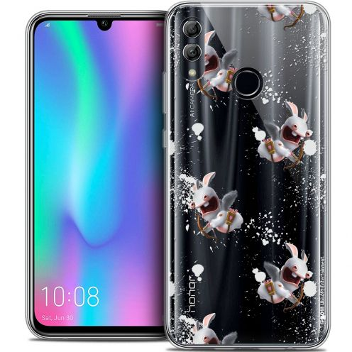 "Coque Gel Huawei Honor 10 LITE (5.8"") Extra Fine Lapins Crétins™ - Cupidon Pattern"