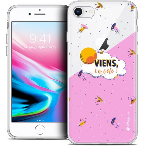 "Coque Gel Apple iPhone 7 (4.7"") Extra Fine Petits Grains® - VIENS, On Vole !"