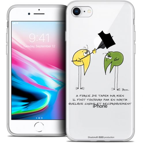 """Coque Gel Apple iPhone 7 (4.7"""") Extra Fine Les Shadoks® - A Force"""