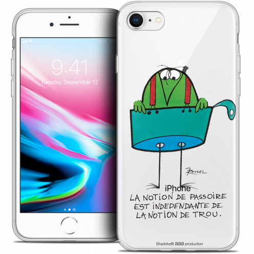 "Coque Gel Apple iPhone 8 (4.7"") Extra Fine Les Shadoks® - La Passoire"