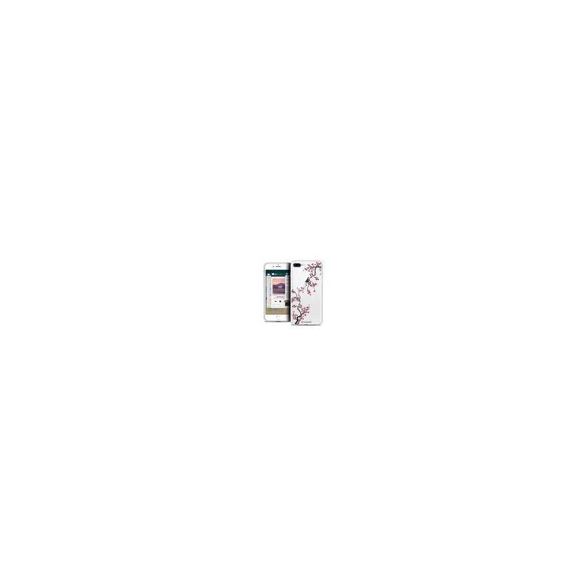 "Coque Crystal Gel Apple iPhone 7 Plus (5.5"") Extra Fine Summer - Sakura"