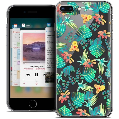 "Coque Crystal Gel Apple iPhone 7 Plus (5.5"") Extra Fine Spring - Tropical"