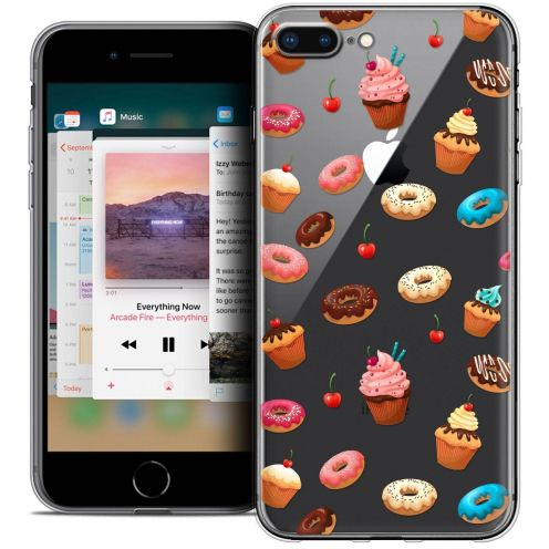 "Coque Crystal Gel Apple iPhone 7 Plus (5.5"") Extra Fine Foodie - Donuts"
