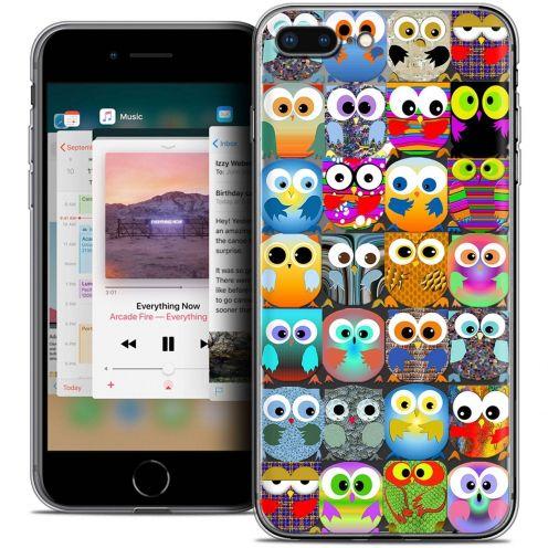 "Coque Crystal Gel Apple iPhone 7 Plus (5.5"") Extra Fine Claude - Hibous"