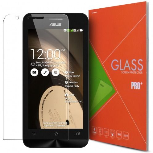 Protection d'écran Verre trempé Asus Zenfone C (ZC451CG) - 9H Glass Pro+ HD 0.33mm 2.5D