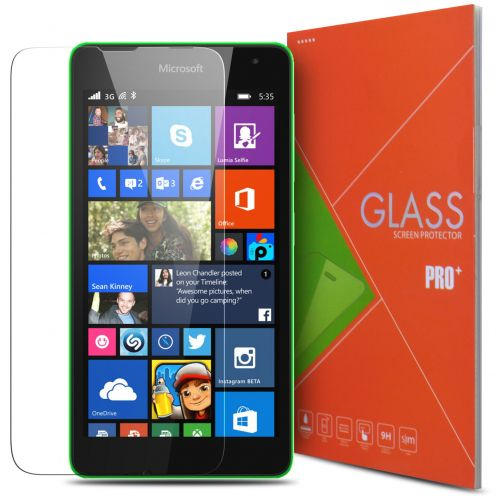 Protection d'écran Verre trempé Microsoft Lumia 535 - 9H Glass Pro+ HD 0.33mm 2.5D
