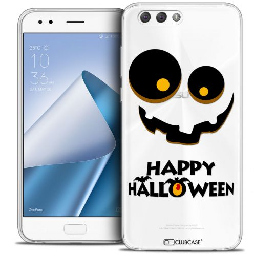 "Coque Crystal Gel Asus Zenfone 4 ZE554KL (5.5"") Extra Fine Halloween - Happy"