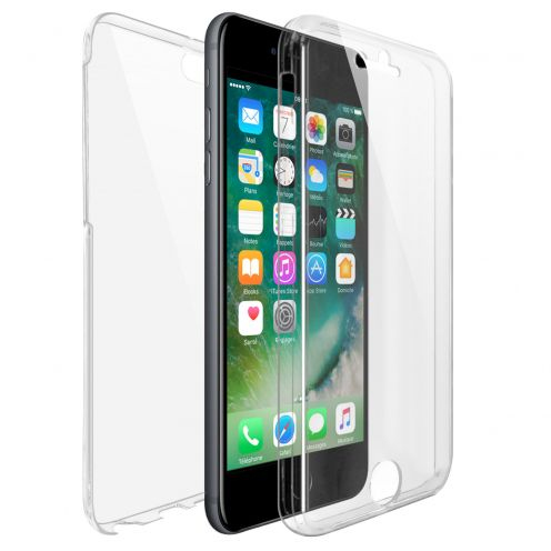 Coque Apple iPhone 7/8 (4.7) Intégrale Gel Defense 360° transparente