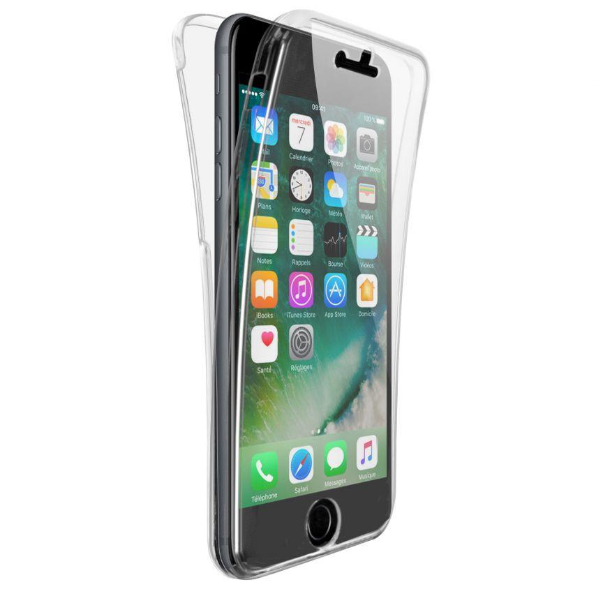 Coque Apple iPhone 7/8 (4.7) Intégrale Gel Defense 360° transparente