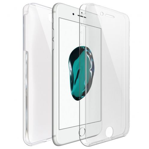 Coque Apple iPhone 7/8 Plus (5.5) Intégrale Gel Defense 360° transparente