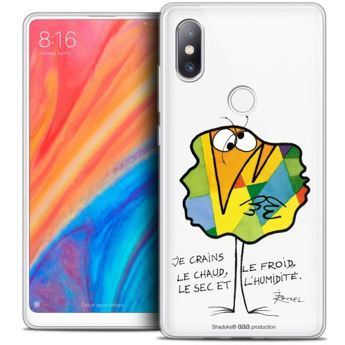 "Coque Gel Xiaomi Mi Mix 2S (5.99"") Extra Fine Les Shadoks® - Chaud ou Froid"