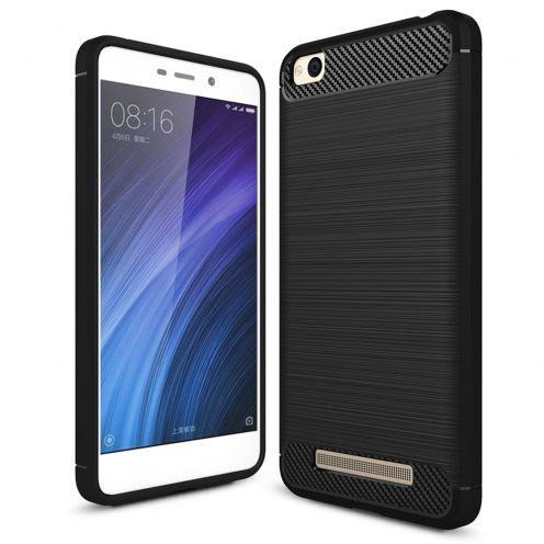 "Coque Xiaomi Redmi 4A (5"") Hybrid Series Carbon Brush Noir"