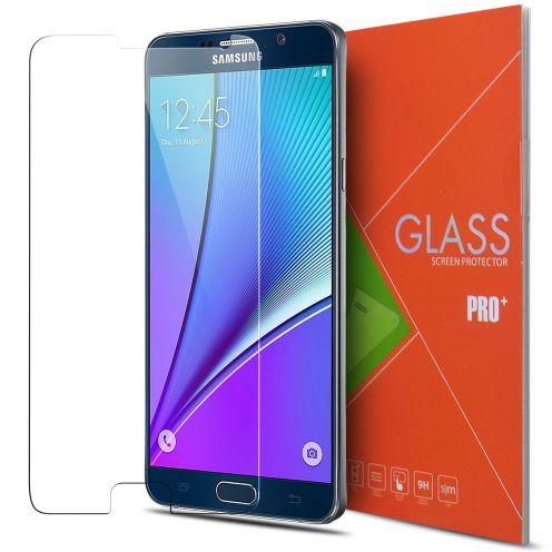 Vue détaillée de Protection d'écran Verre trempé Samsung Galaxy Note 5 - 9H Glass Pro+ HD 0.33mm 2.5D