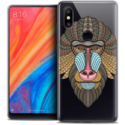 "Coque Crystal Gel Xiaomi Mi Mix 2S (5.99"") Extra Fine Summer - Babouin"