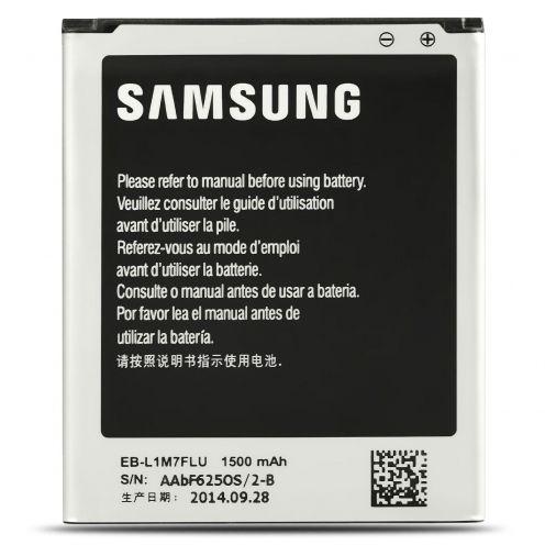 Vue détaillée de Batterie d'Origine Samsung EB-L1M7FLU Pour Galaxy S3 Mini NFC (1500mAh)
