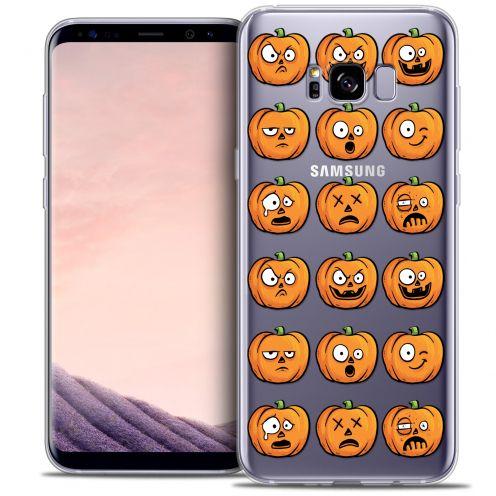 Coque Crystal Gel Samsung Galaxy S8+/ Plus (G955) Extra Fine Halloween - Cartoon Citrouille