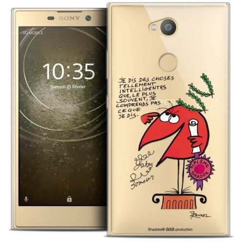 "Coque Gel Sony Xperia L2 (5.7"") Extra Fine Les Shadoks® - Intelligent"