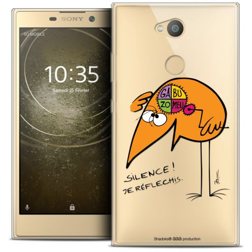 """Coque Gel Sony Xperia L2 (5.7"""") Extra Fine Les Shadoks® - Silence !"""