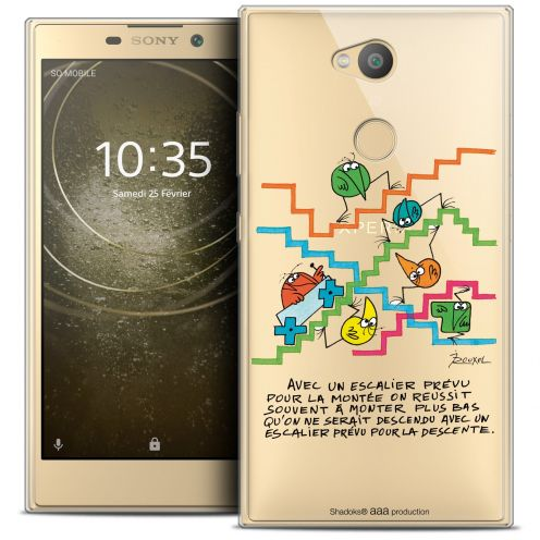 "Coque Gel Sony Xperia L2 (5.7"") Extra Fine Les Shadoks® - L'escalier"
