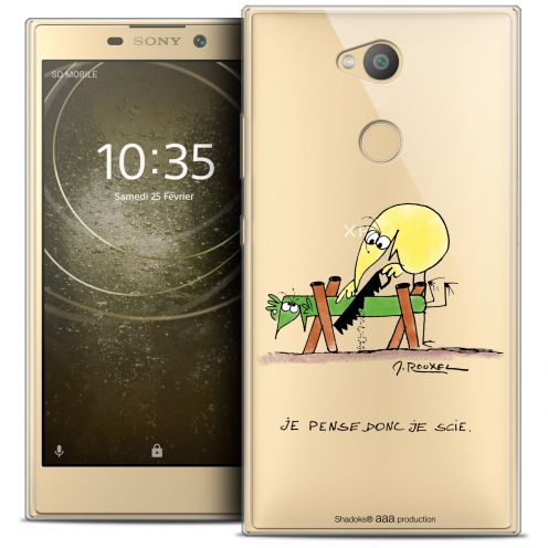 "Coque Gel Sony Xperia L2 (5.7"") Extra Fine Les Shadoks® - Je pense Donc"