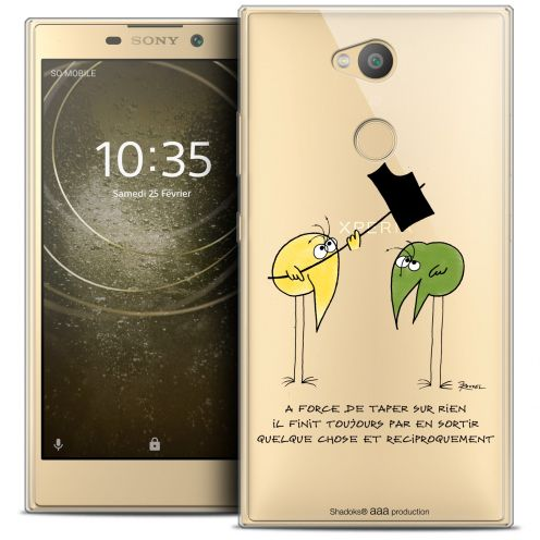 "Coque Gel Sony Xperia L2 (5.7"") Extra Fine Les Shadoks® - A Force"
