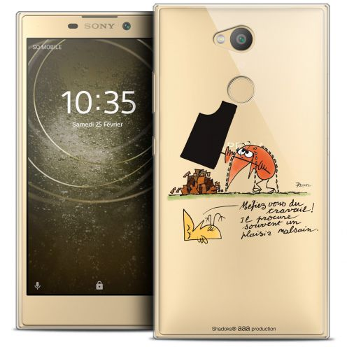 "Coque Gel Sony Xperia L2 (5.7"") Extra Fine Les Shadoks® - Le Travail"