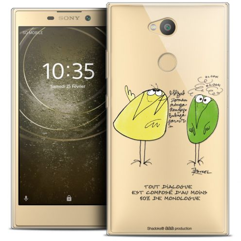 "Coque Gel Sony Xperia L2 (5.7"") Extra Fine Les Shadoks® - Le Dialogue"