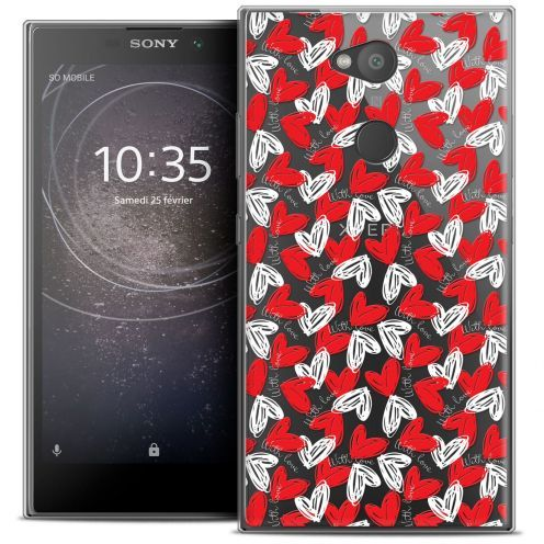 "Coque Crystal Gel Sony Xperia L2 (5.5"") Extra Fine Love - With Love"