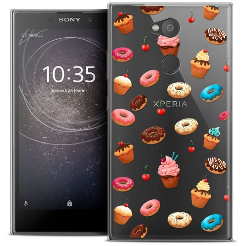 "Coque Crystal Gel Sony Xperia L2 (5.5"") Extra Fine Foodie - Donuts"