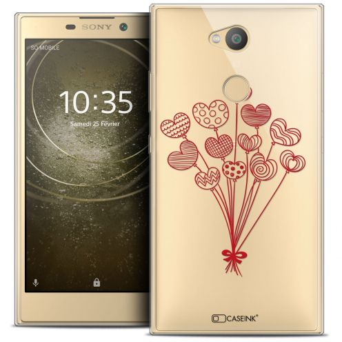 "Coque Crystal Gel Sony Xperia L2 (5.5"") Extra Fine Love - Ballons d'amour"