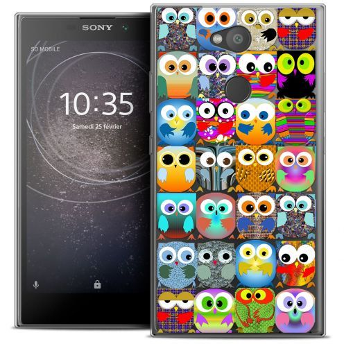 "Coque Crystal Gel Sony Xperia L2 (5.5"") Extra Fine Claude - Hibous"