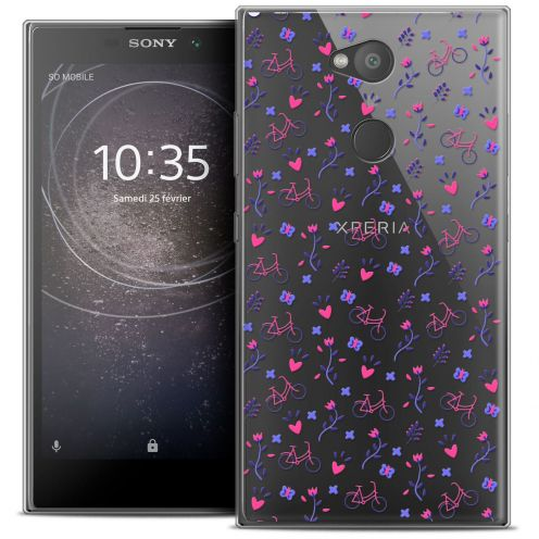 """Coque Crystal Gel Sony Xperia L2 (5.5"""") Extra Fine Love - Bicycle"""