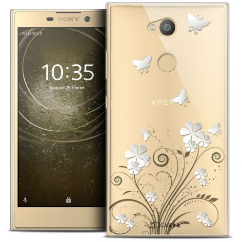 """Coque Crystal Gel Sony Xperia L2 (5.5"""") Extra Fine Summer - Papillons"""