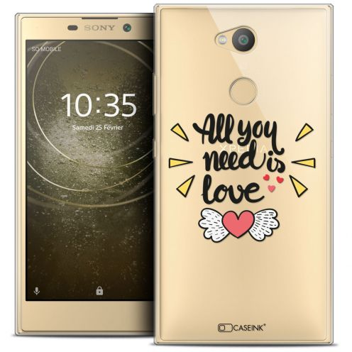 """Coque Crystal Gel Sony Xperia L2 (5.5"""") Extra Fine Love - All U Need Is"""