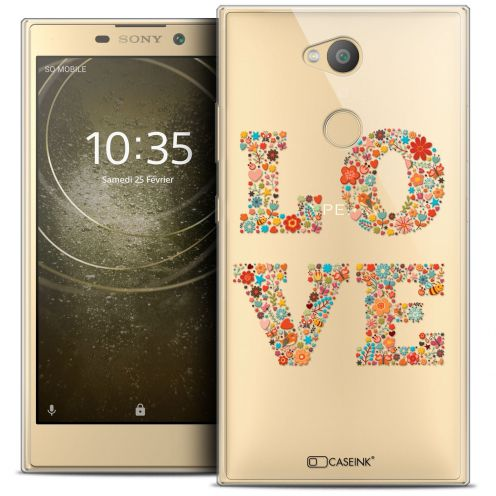 "Coque Crystal Gel Sony Xperia L2 (5.5"") Extra Fine Summer - Love Flowers"