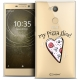 "Coque Crystal Gel Sony Xperia L2 (5.5"") Extra Fine Love - My Pizza Slice"