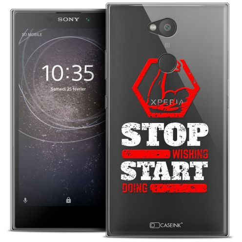 """Coque Crystal Gel Sony Xperia L2 (5.5"""") Extra Fine Quote - Start Doing"""