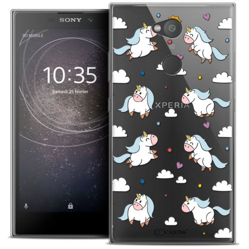 """Coque Crystal Gel Sony Xperia L2 (5.5"""") Extra Fine Fantasia - Licorne In the Sky"""