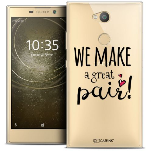 """Coque Crystal Gel Sony Xperia L2 (5.5"""") Extra Fine Love - We Make Great Pair"""