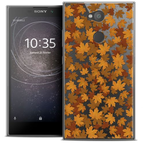 """Coque Crystal Gel Sony Xperia L2 (5.5"""") Extra Fine Autumn 16 - Feuilles"""